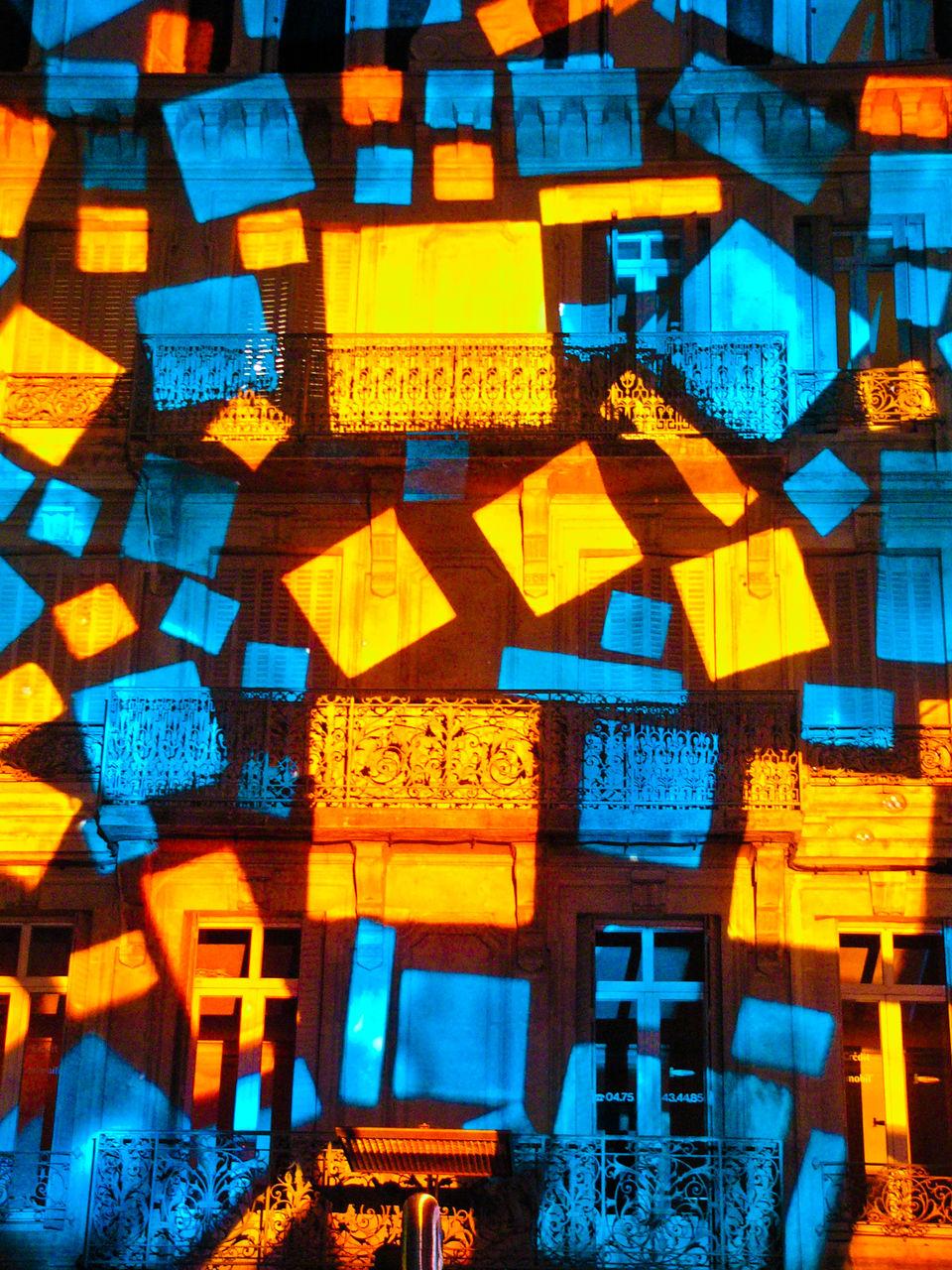 Cédrick Tux Mur de Lumière