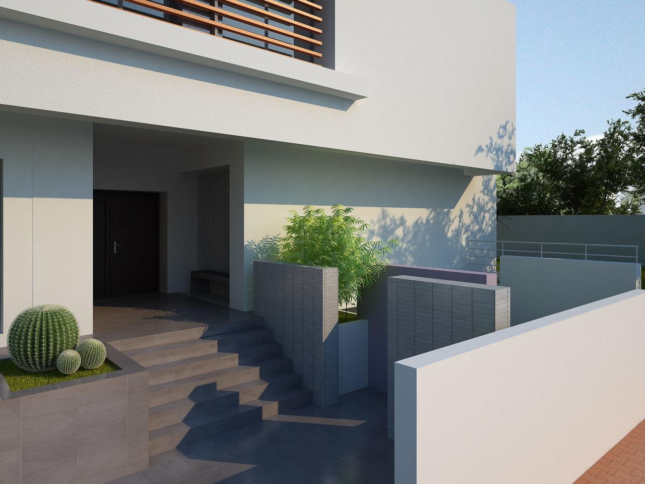Cheikhrouhou & partners Architects cache cache Mies et moi