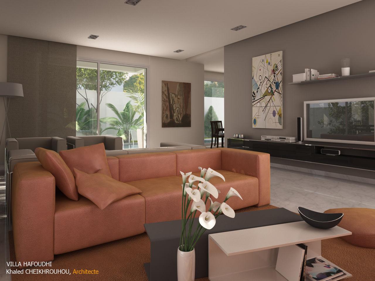 Cheikhrouhou & partners Architects Villa H