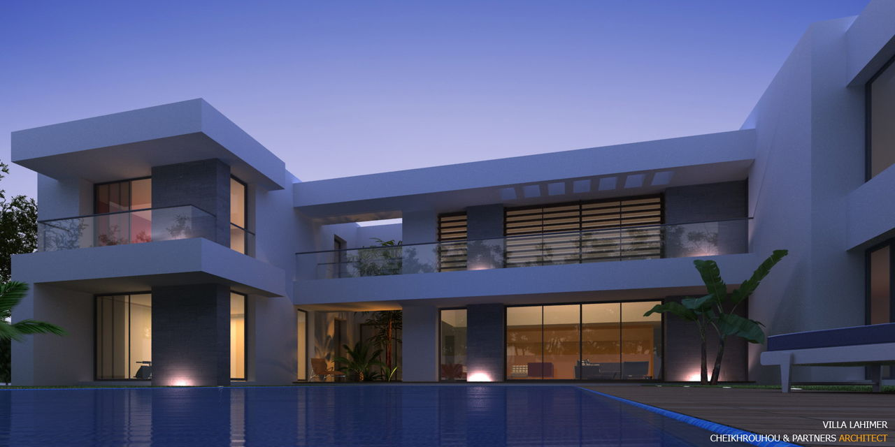 Cheikhrouhou & partners Architects VILLA L