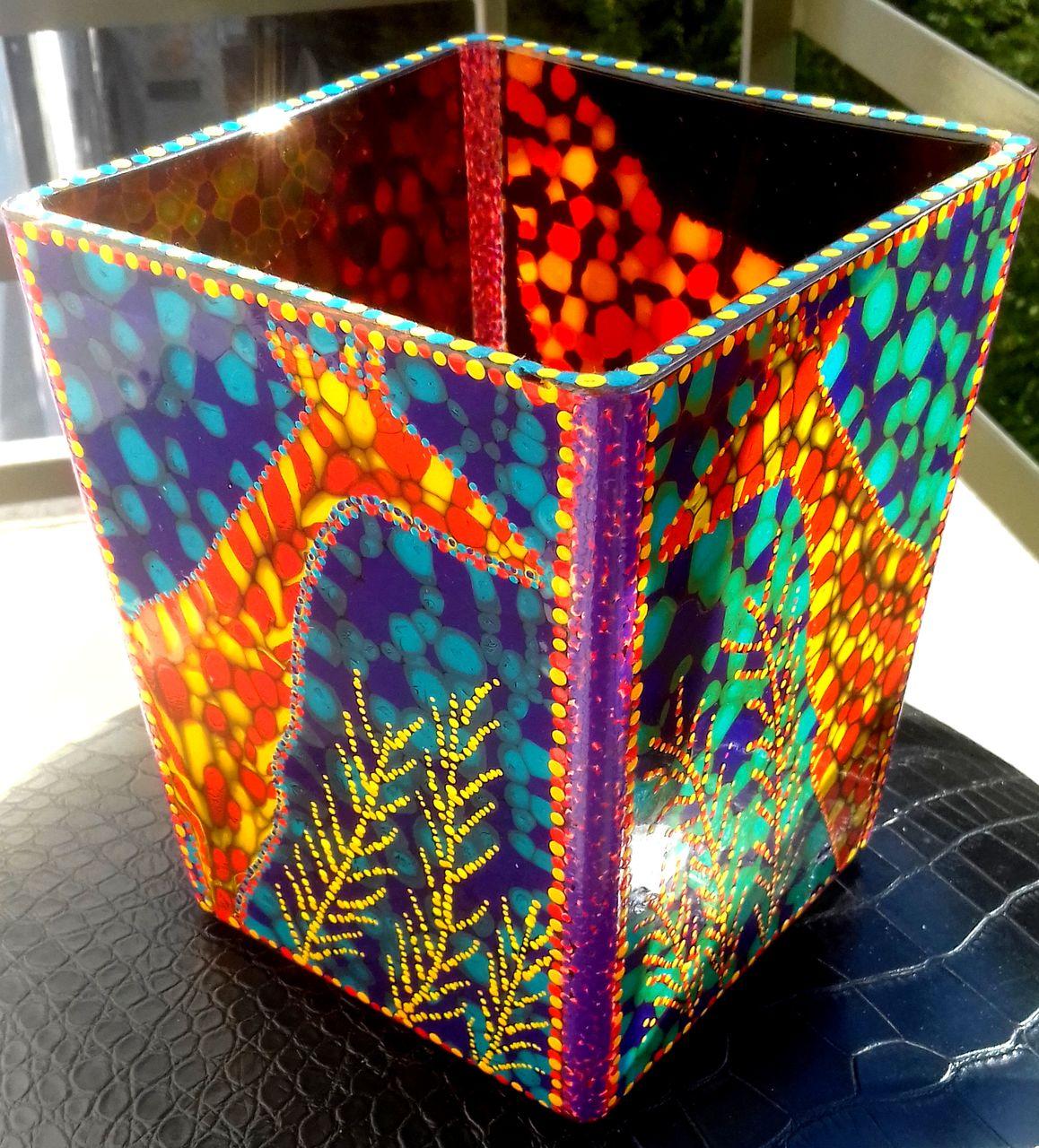 chris christopher Vase....4 (ou cache pot)