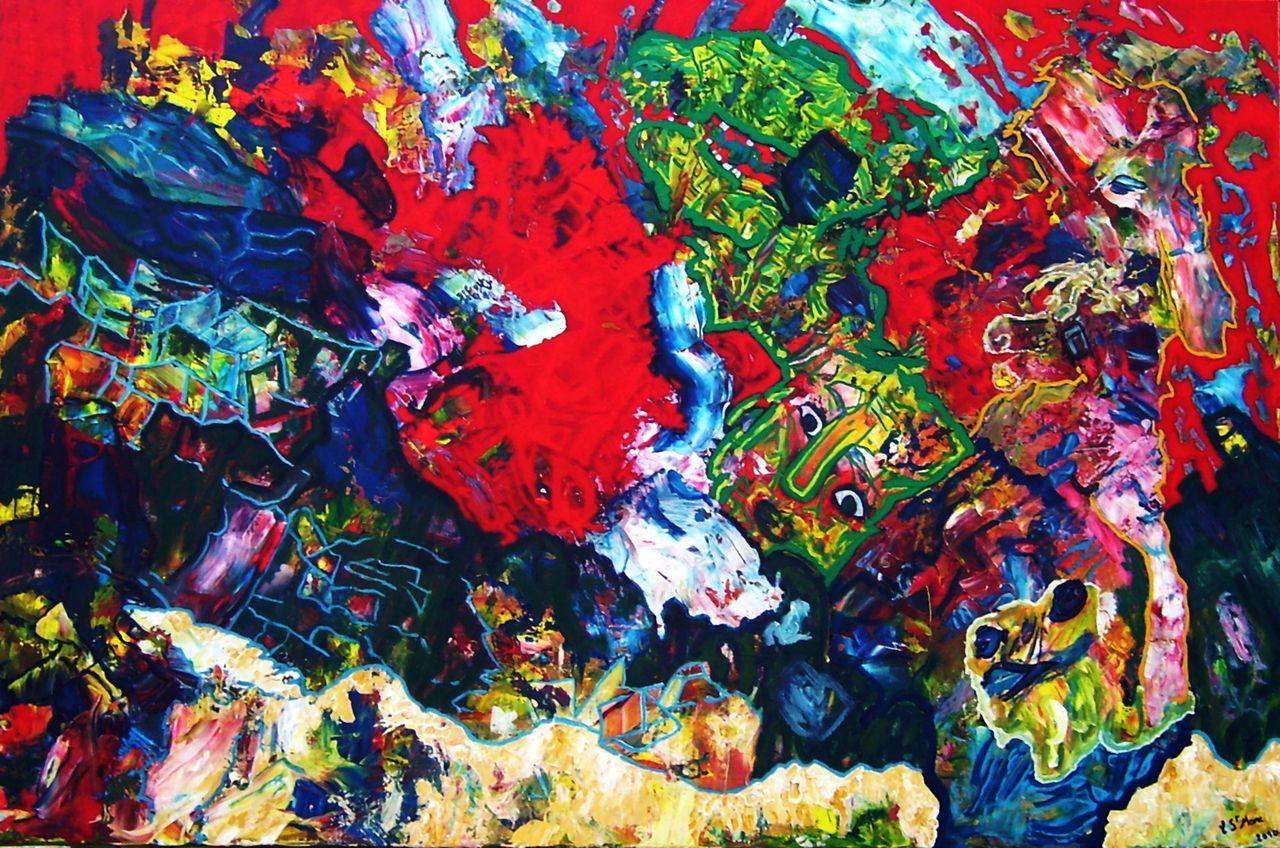 christian saint marc déflagration chromatique 2010