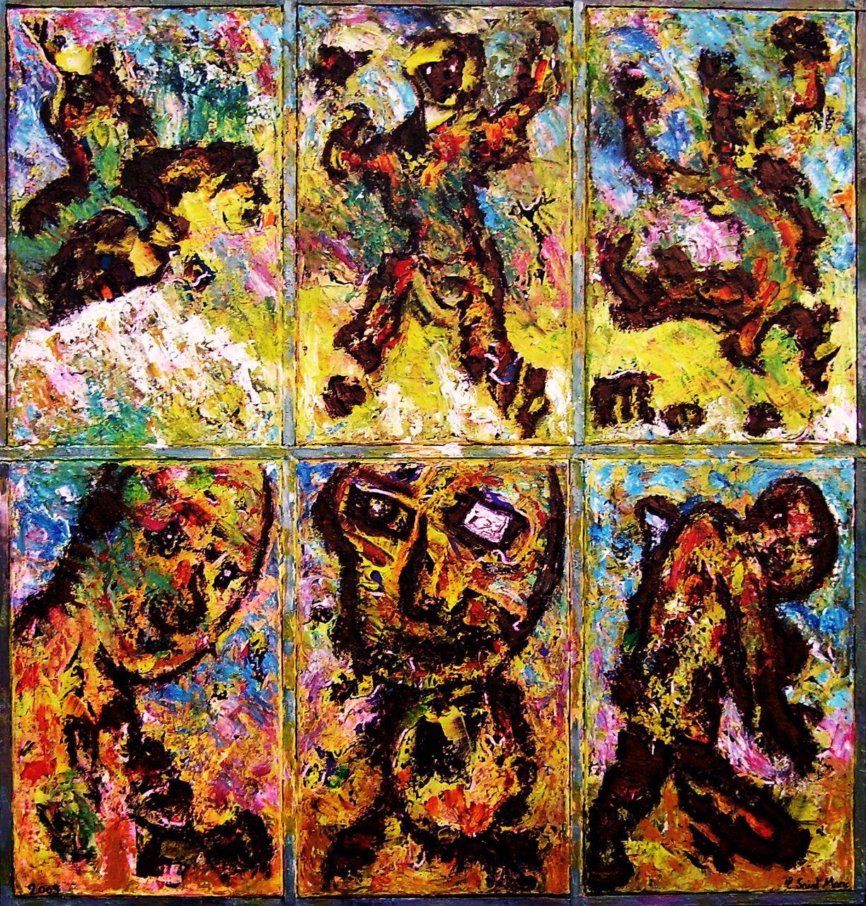 christian saint marc l'enfance de l'art