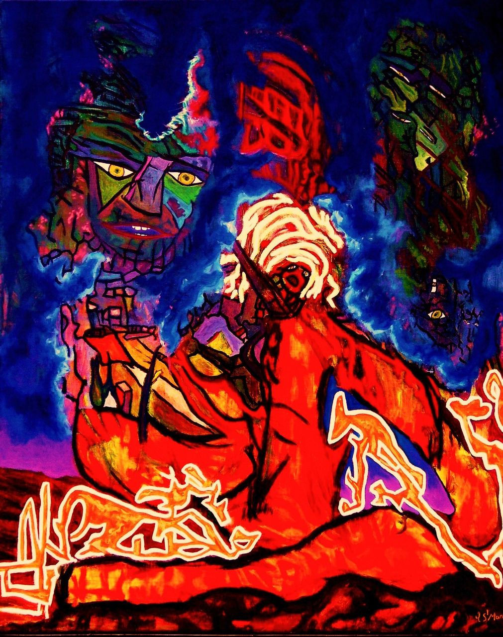 christian saint marc Le Fakir 2008