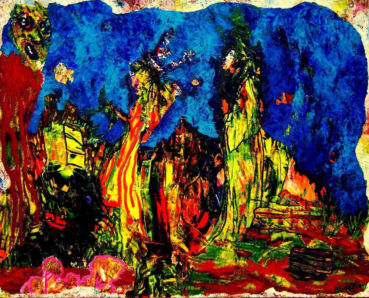 christian saint marc prière et flamenco 2007