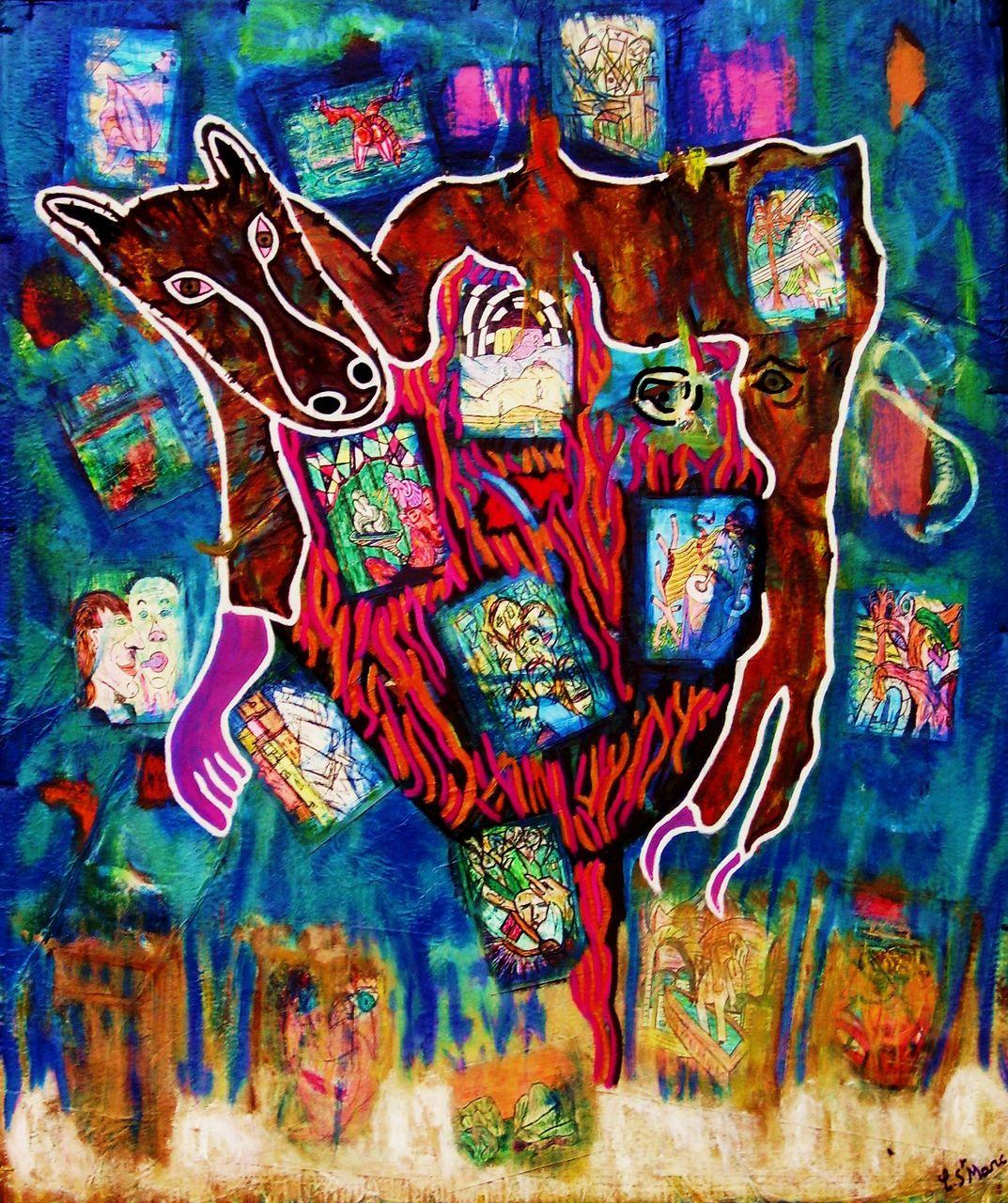 christian saint marc kraft-work 2008