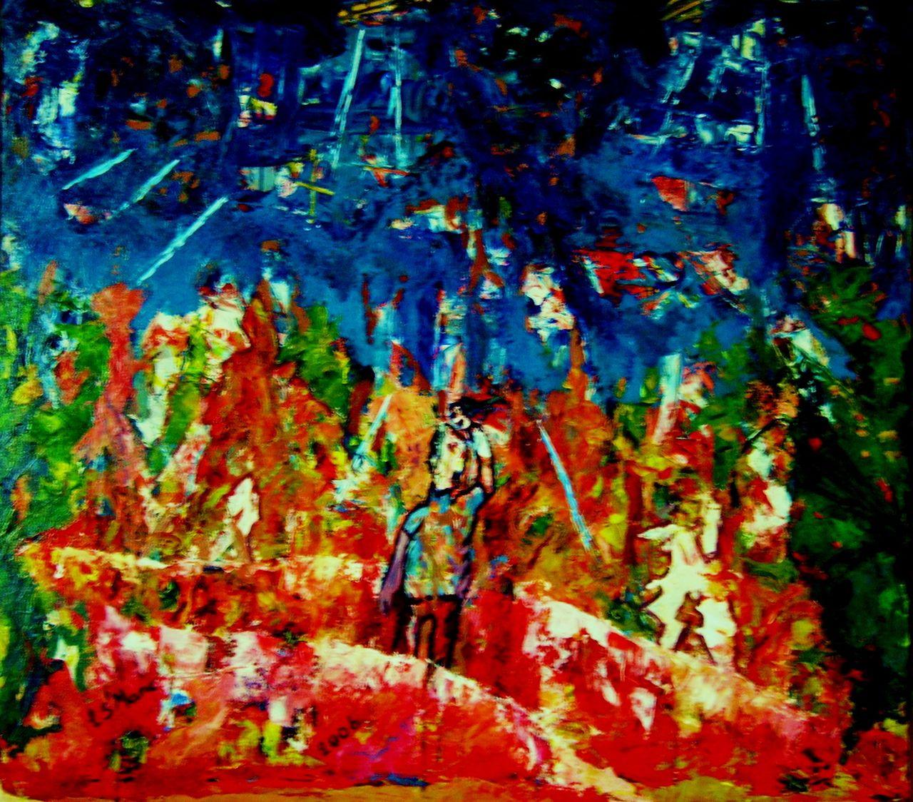christian saint marc le salut de l'artiste 2006