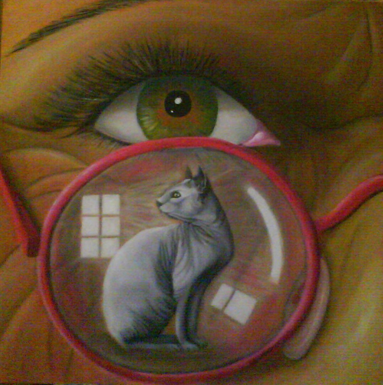 Christine A l'oeil nu