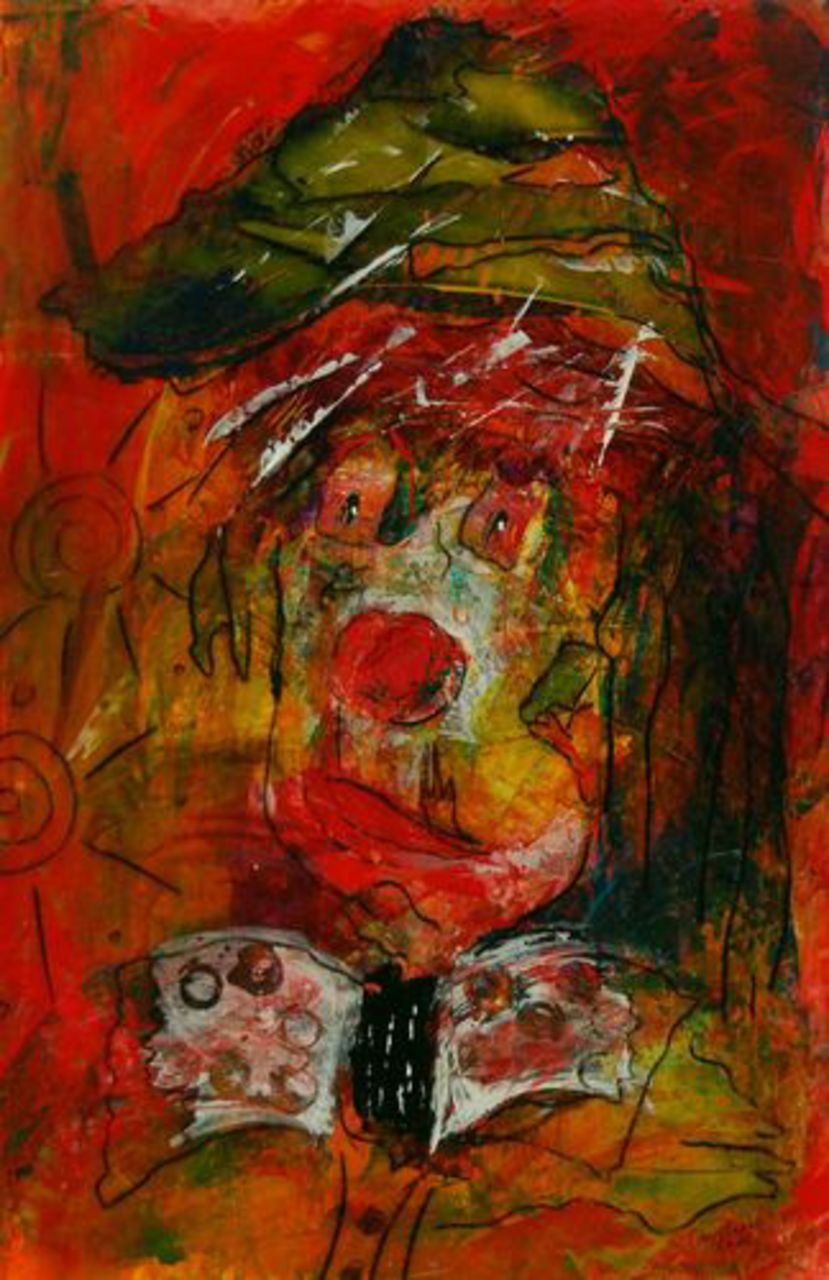 Christophe Cudel Clown 1