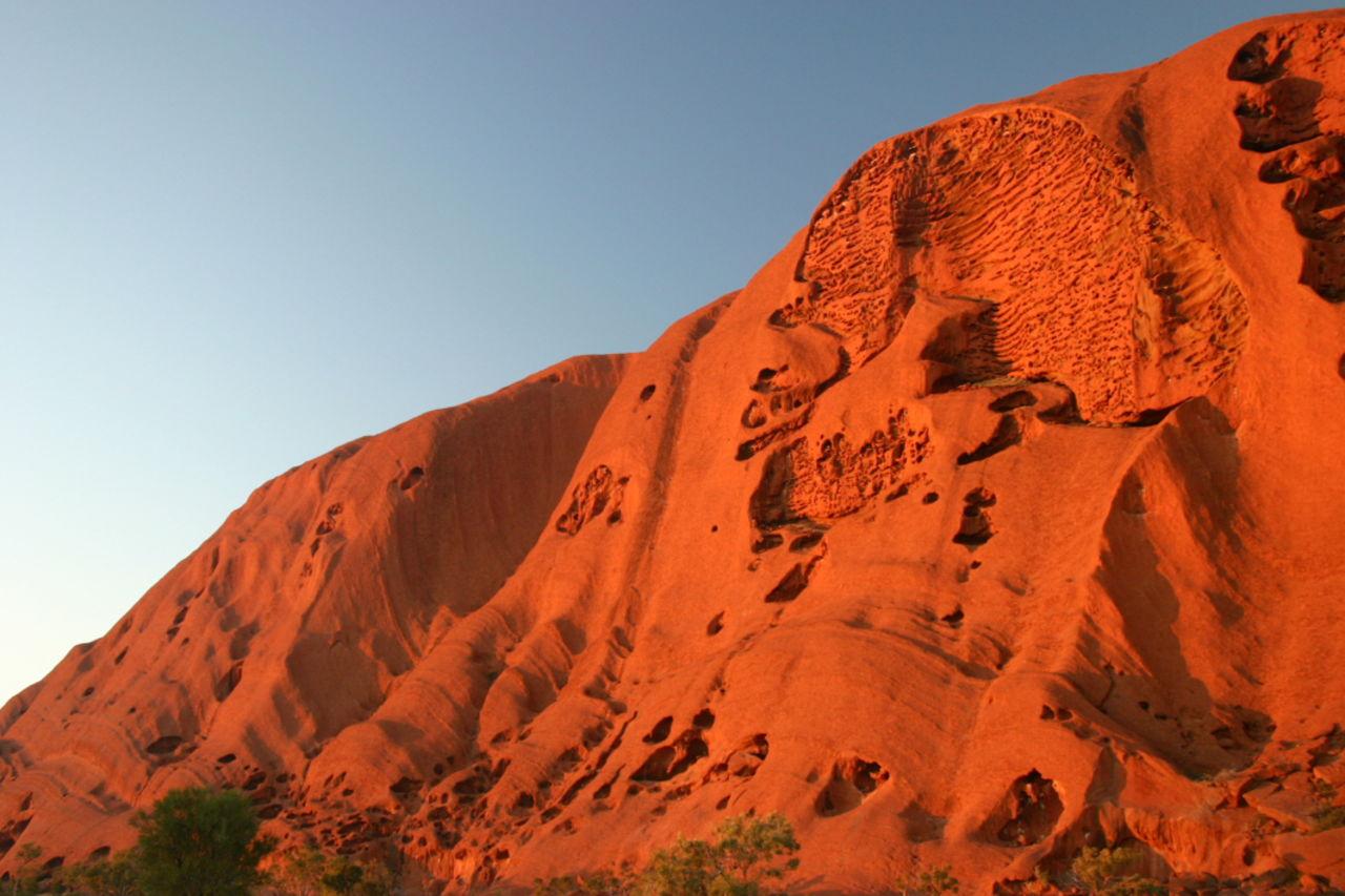 Claire Lemière Uluru désert australien