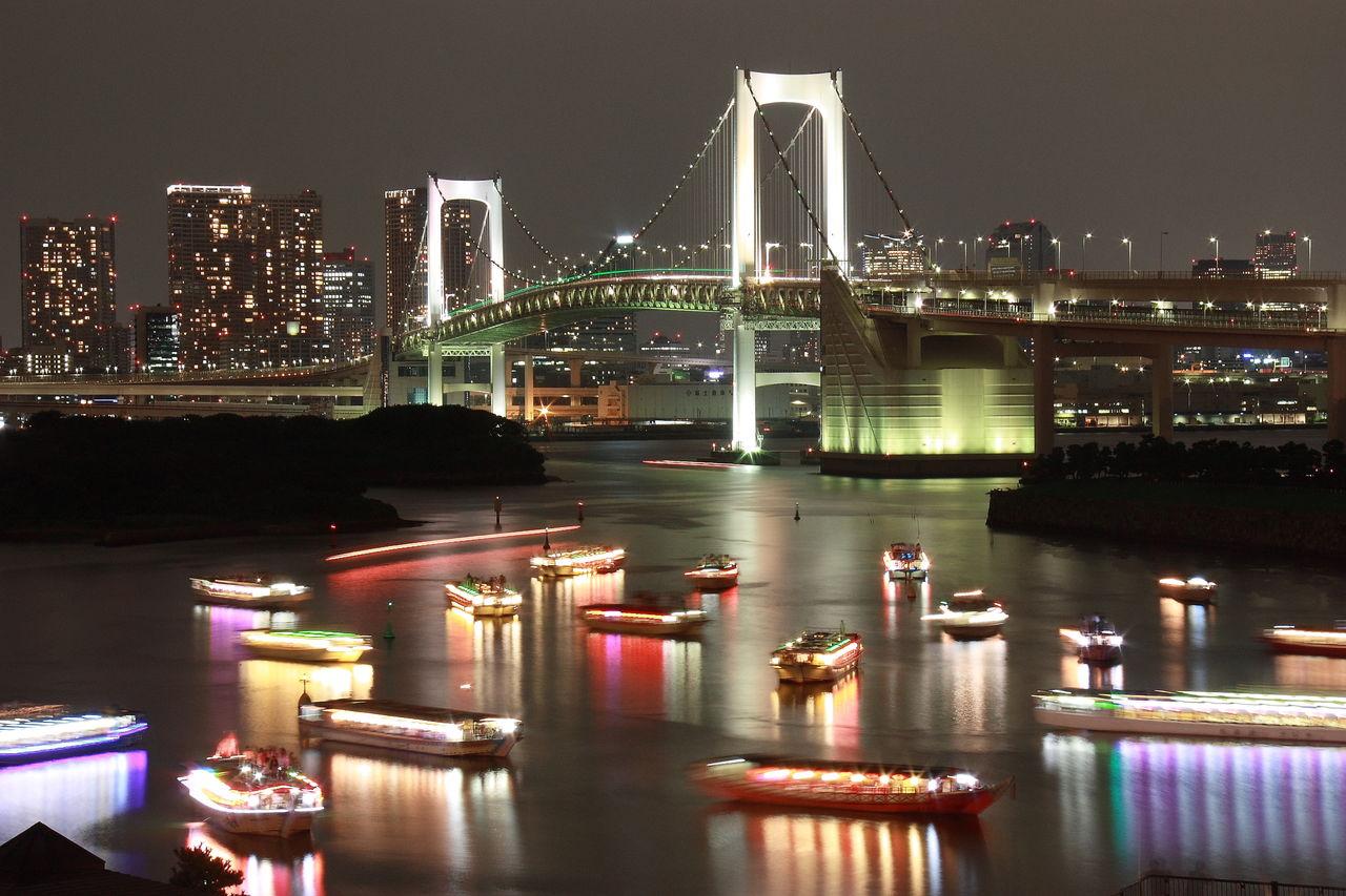 Claire Lemière une nuit à Tokyo