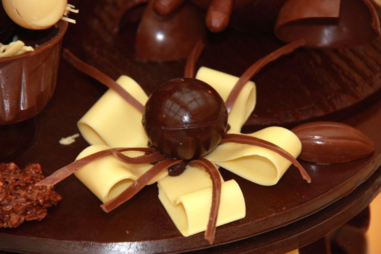 Claire Lemière noeud en chocolat