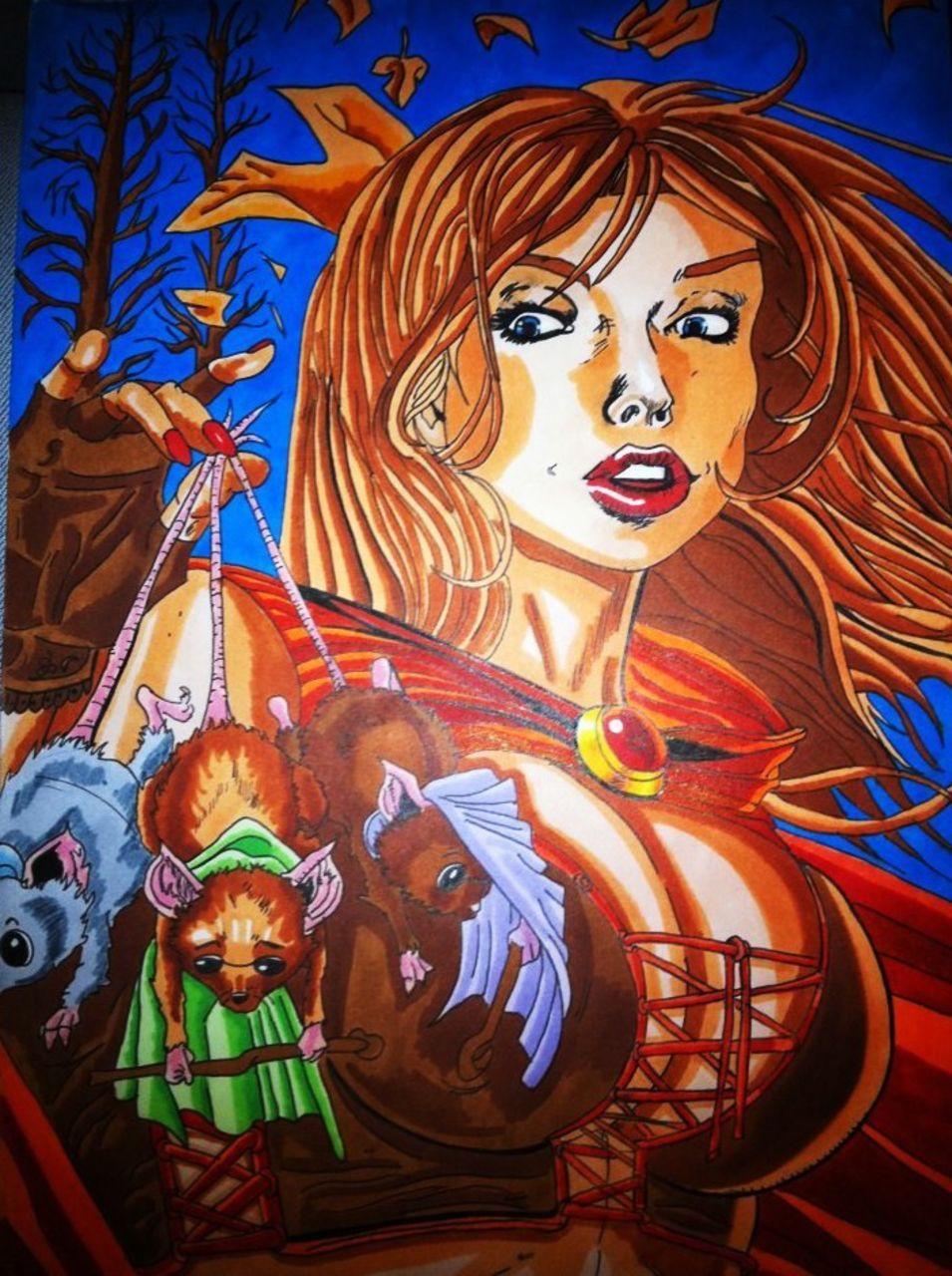 Crombois fan art J.Scott Campbell