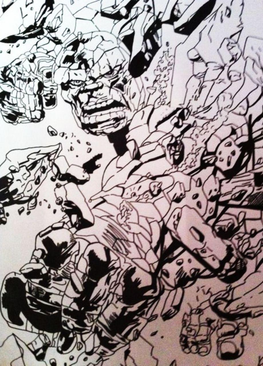 Crombois fan art marvel 2 : la chose