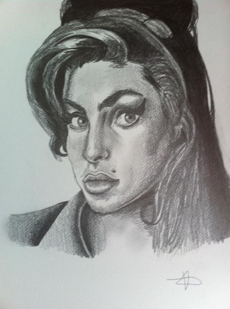 Crombois portrait Amy Winehouse