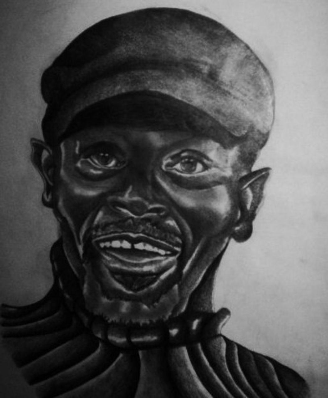 Crombois portrait d'un vieil homme