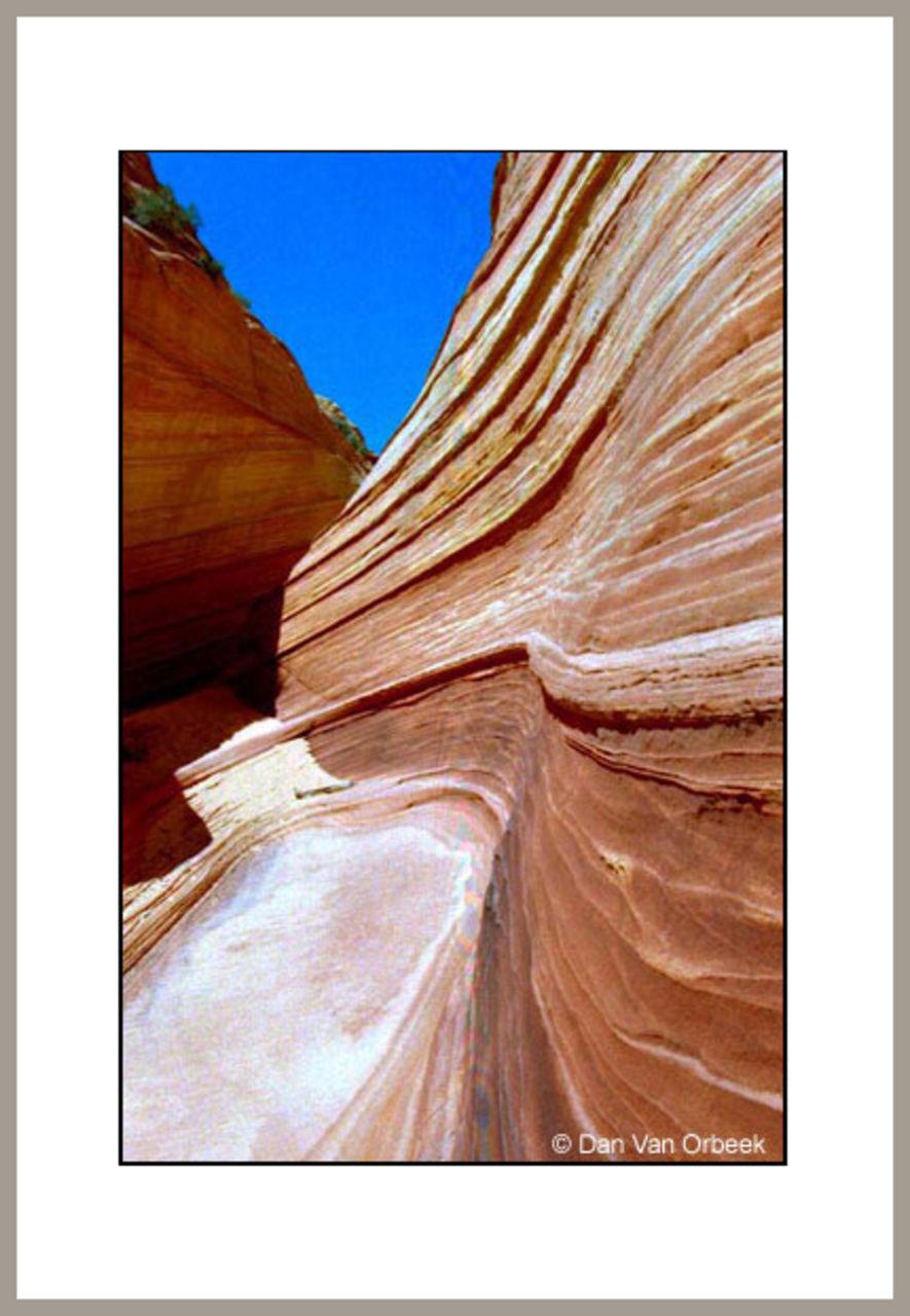 Dan Van Orbeek formation géologiques Utah