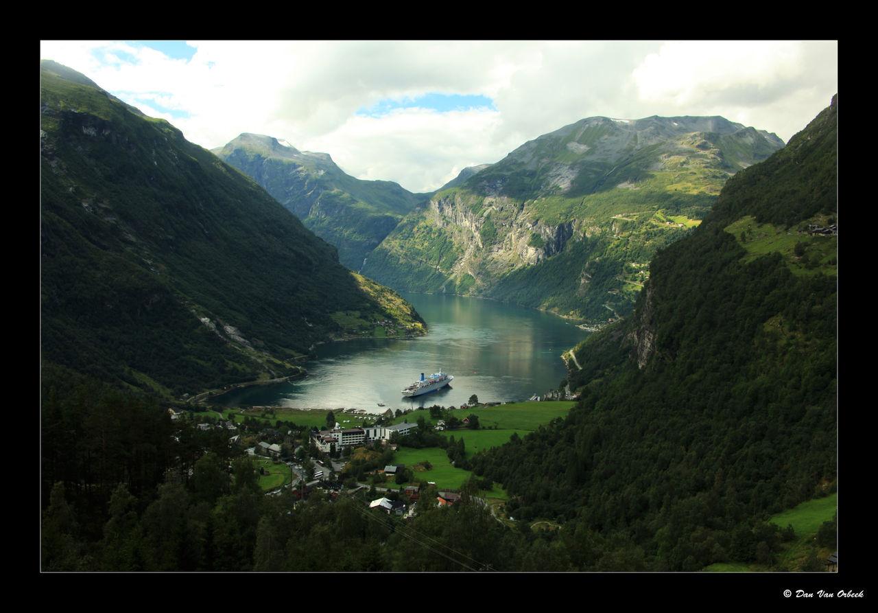 Dan Van Orbeek geiranger fjord