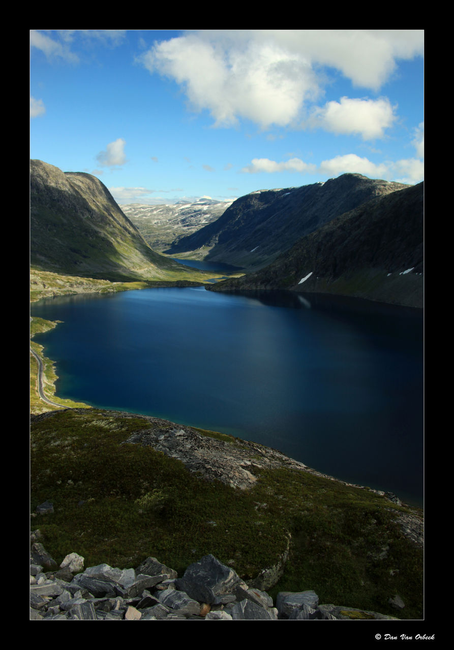 Dan Van Orbeek MOUNTAIN LAKE NORWAY