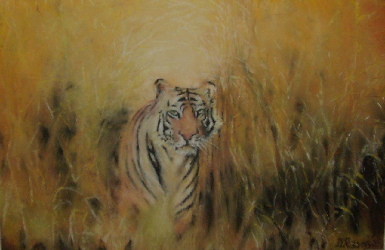 Daniel Riba La tigresse