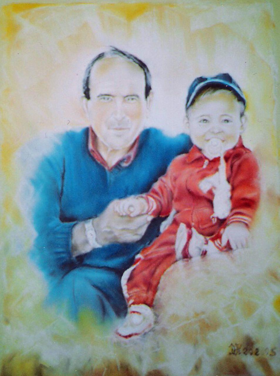 Daniel Riba Le grand père et l'enfnat