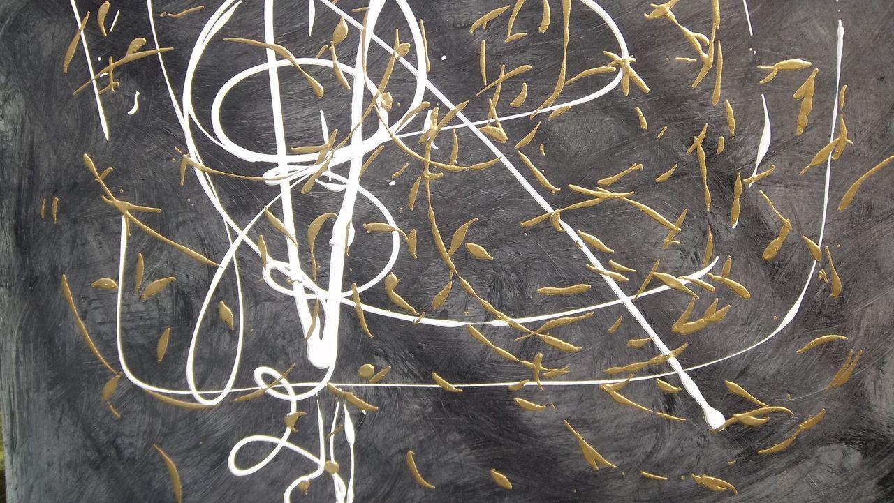 DANIELE FEDI feuilles d'or
