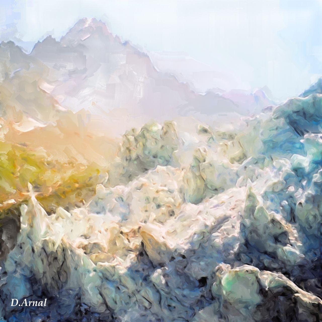 Danielle Arnal glacier d'Argentière