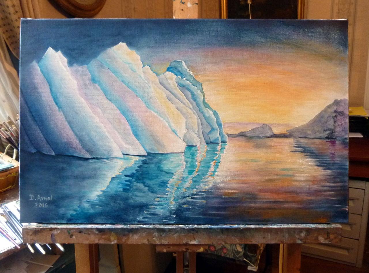Danielle Arnal lumière sur glace