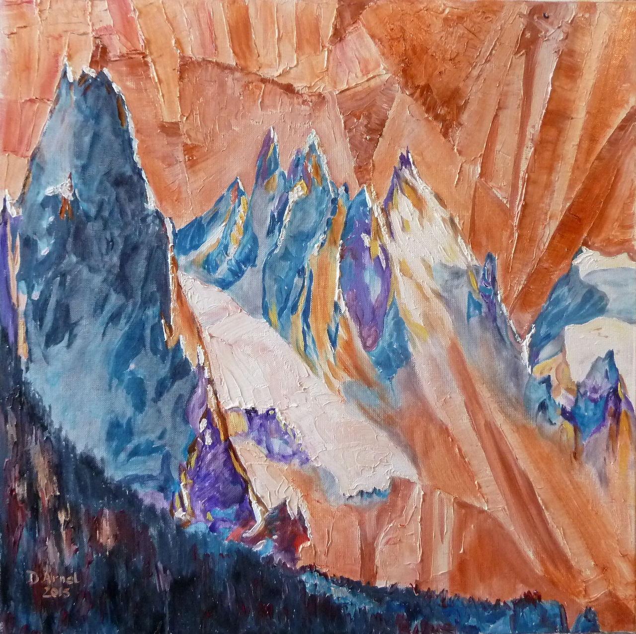 Danielle Arnal Naissance des Alpes