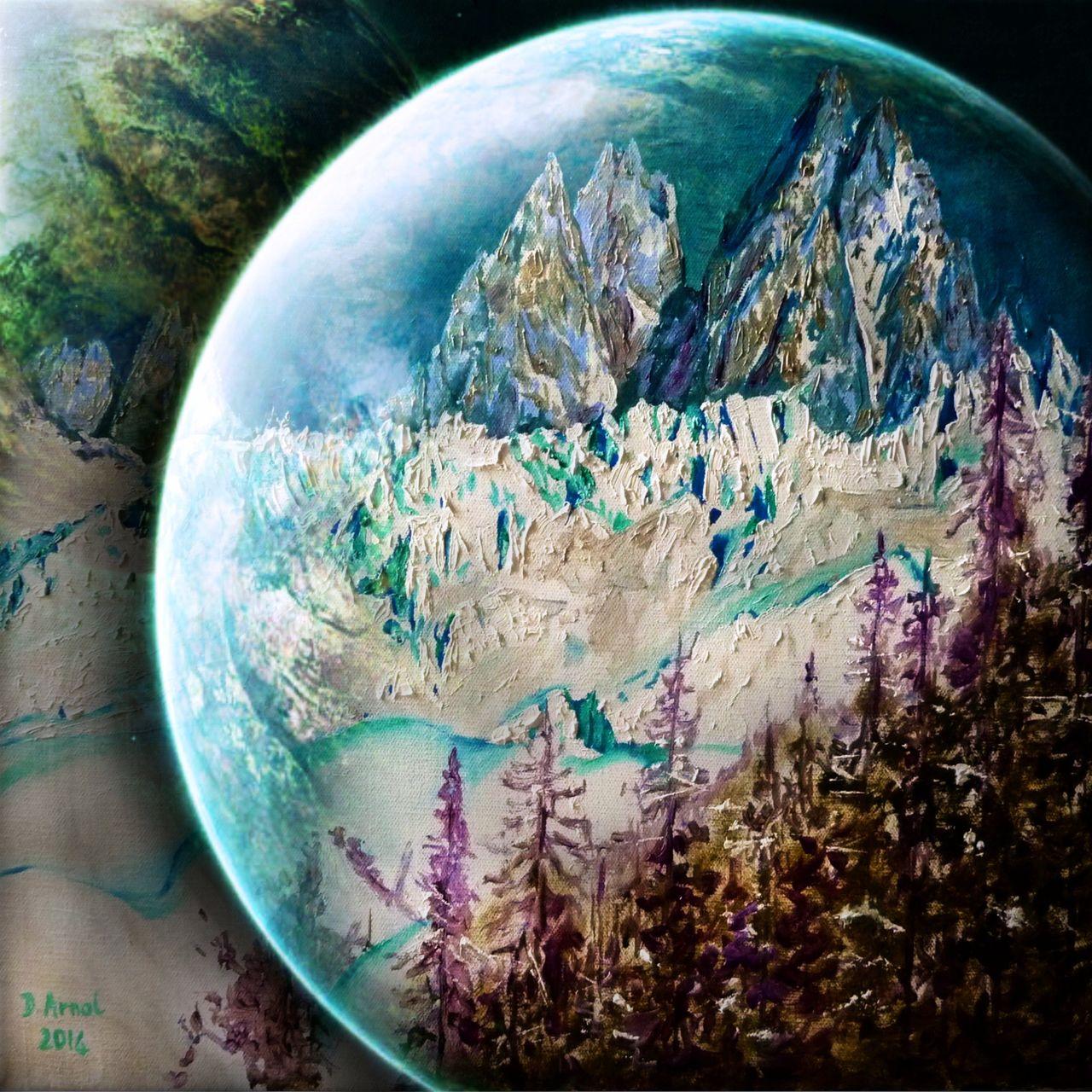 Danielle Arnal planète glacée