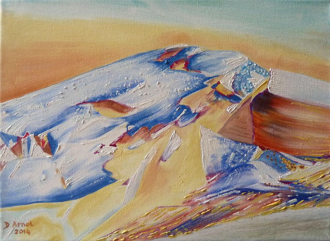 Danielle Arnal Toit des Alpes