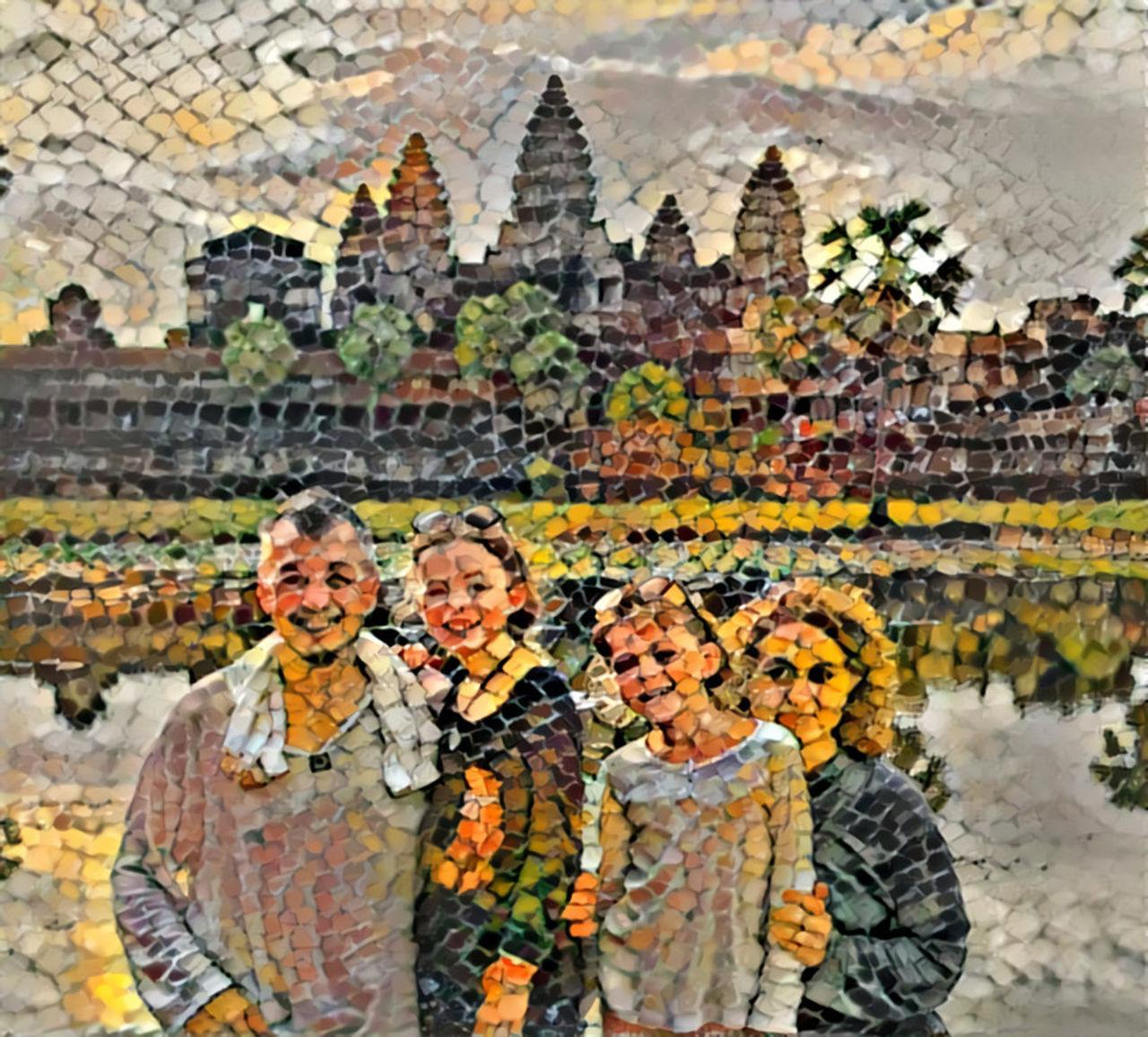 Danielle Arnal à Angkor
