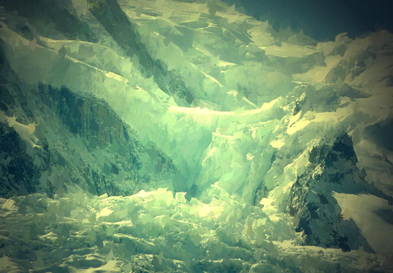 Danielle Arnal glacier du Mont-Blanc