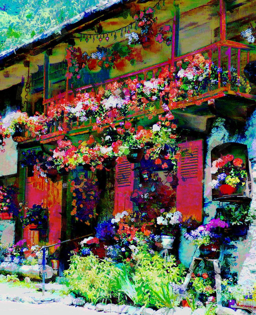 Danielle Arnal la maison fleurie