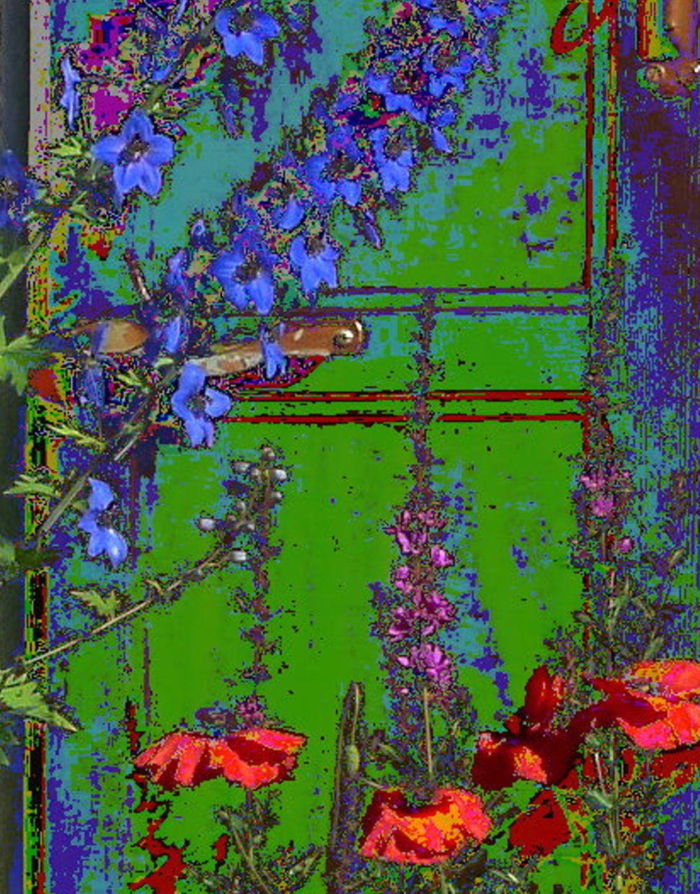 Danielle Arnal la porte verte