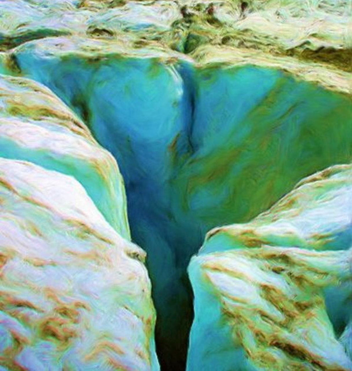 Danielle Arnal mer de glace
