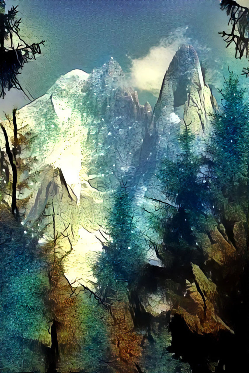 Danielle Arnal Poetic mountain N2