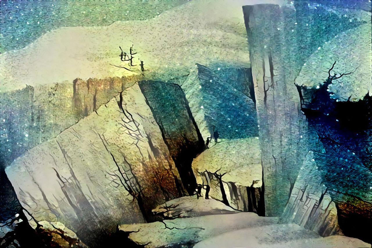 Danielle Arnal Poetic mountains N10