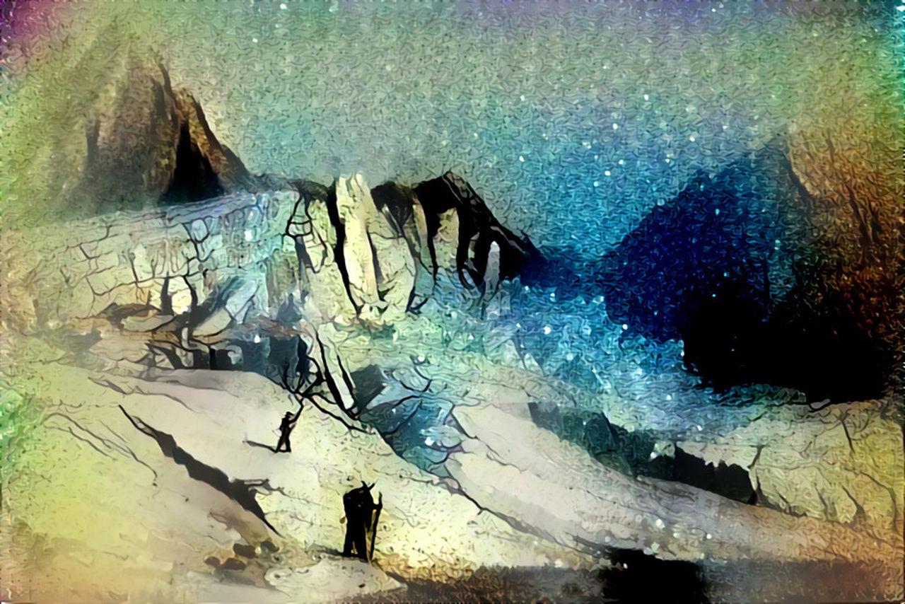 Danielle Arnal Poetic mountains N12