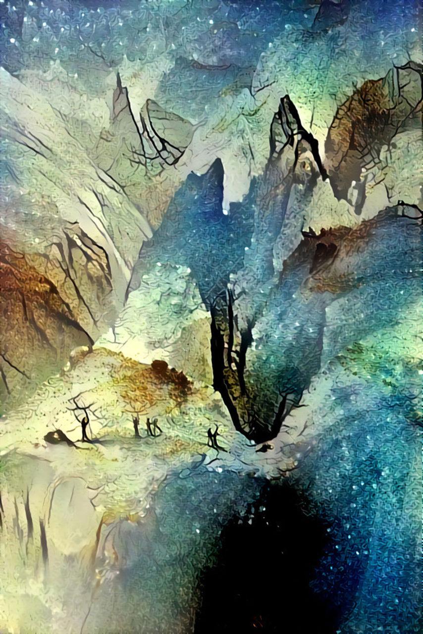 Danielle Arnal Poetic mountains N9