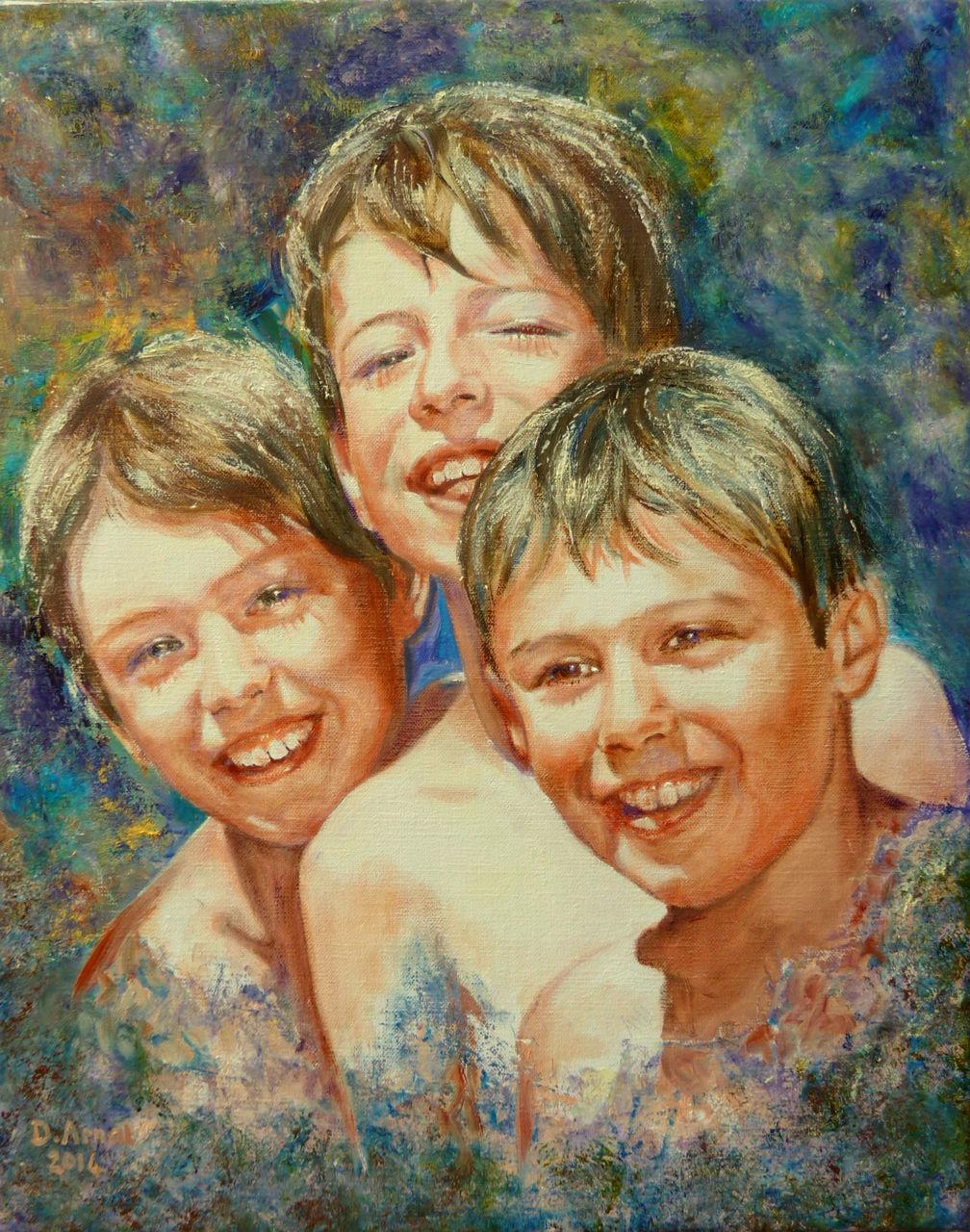 Danielle Arnal 3 frères au soleil