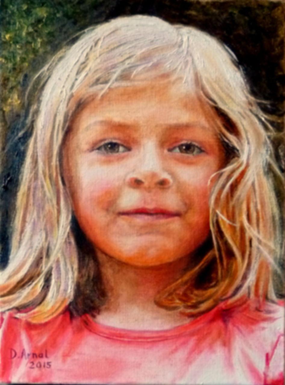 Danielle Arnal Chloé 7 ans