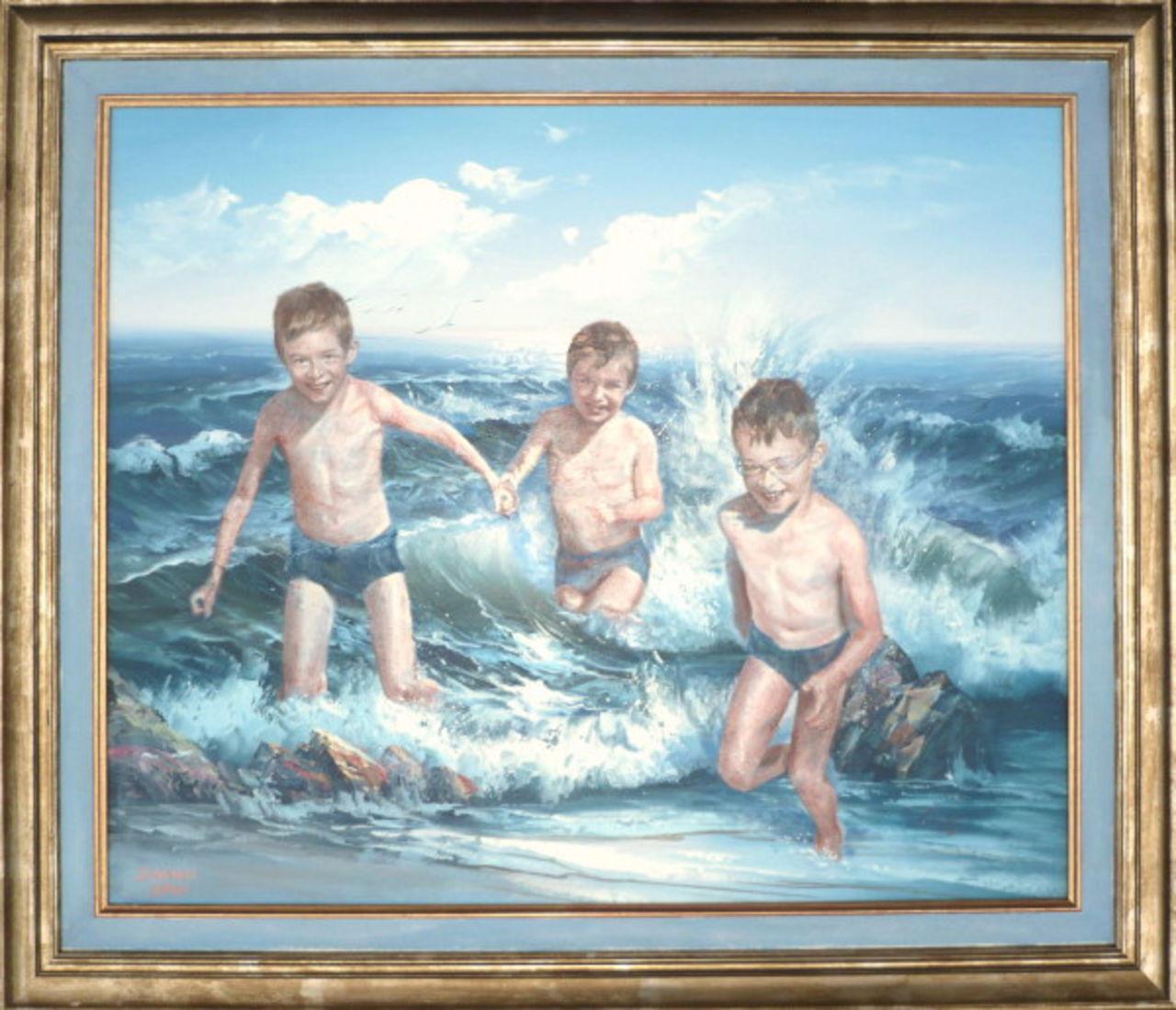 Danielle Arnal les 3 frêres à la mer