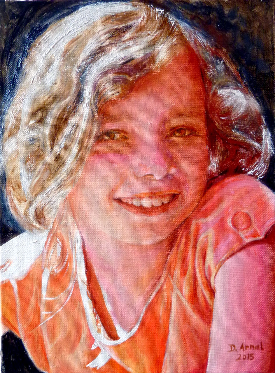 Danielle Arnal Margaux 10 ans
