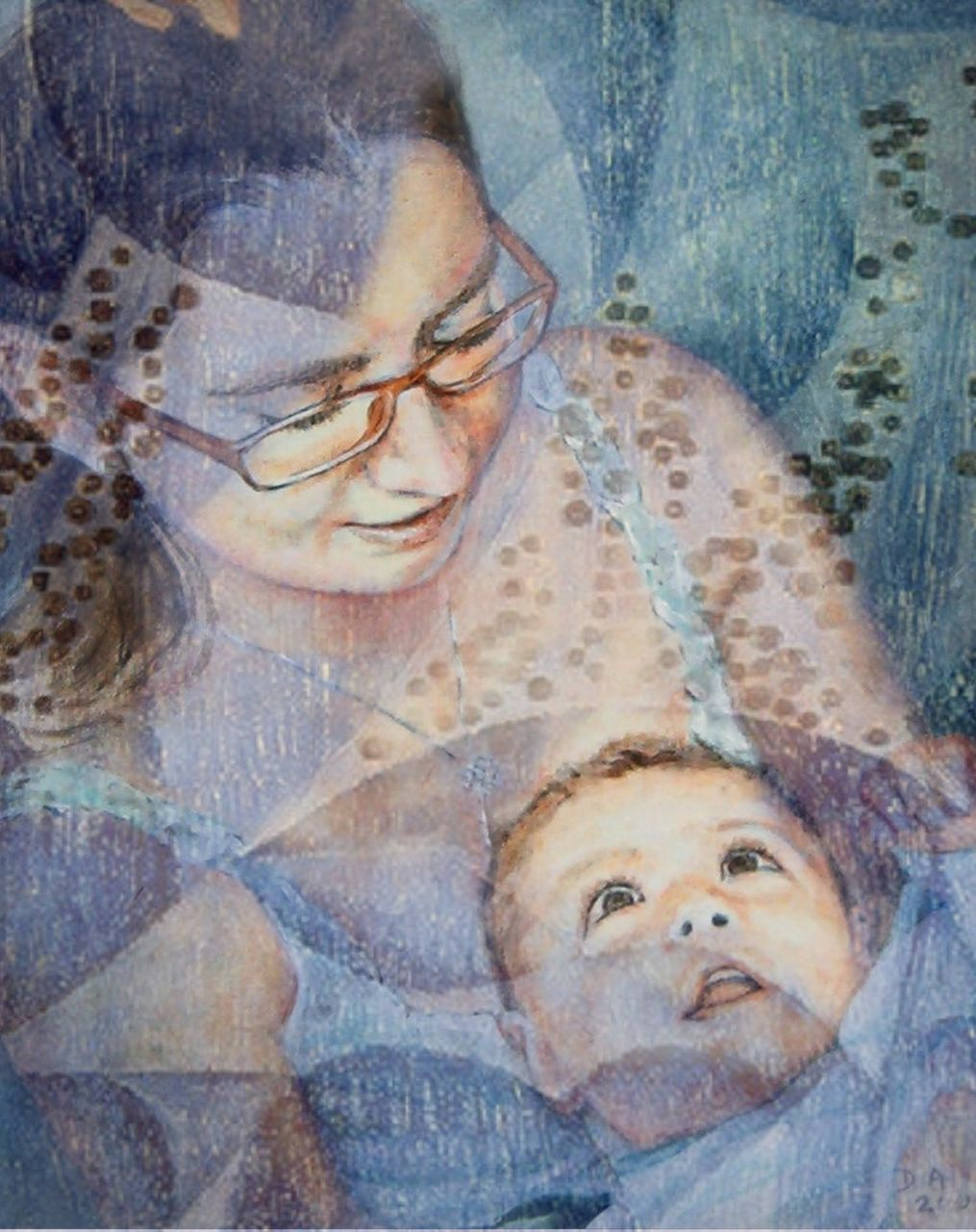 Danielle Arnal motherly blue