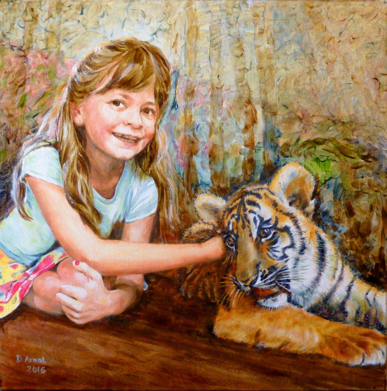 Danielle Arnal Tout doux le tigre de Chloé