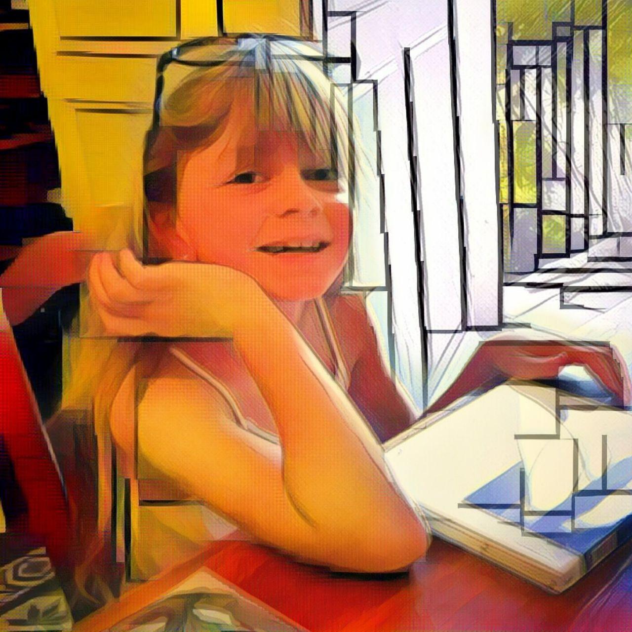 Danielle Arnal Chloé peint