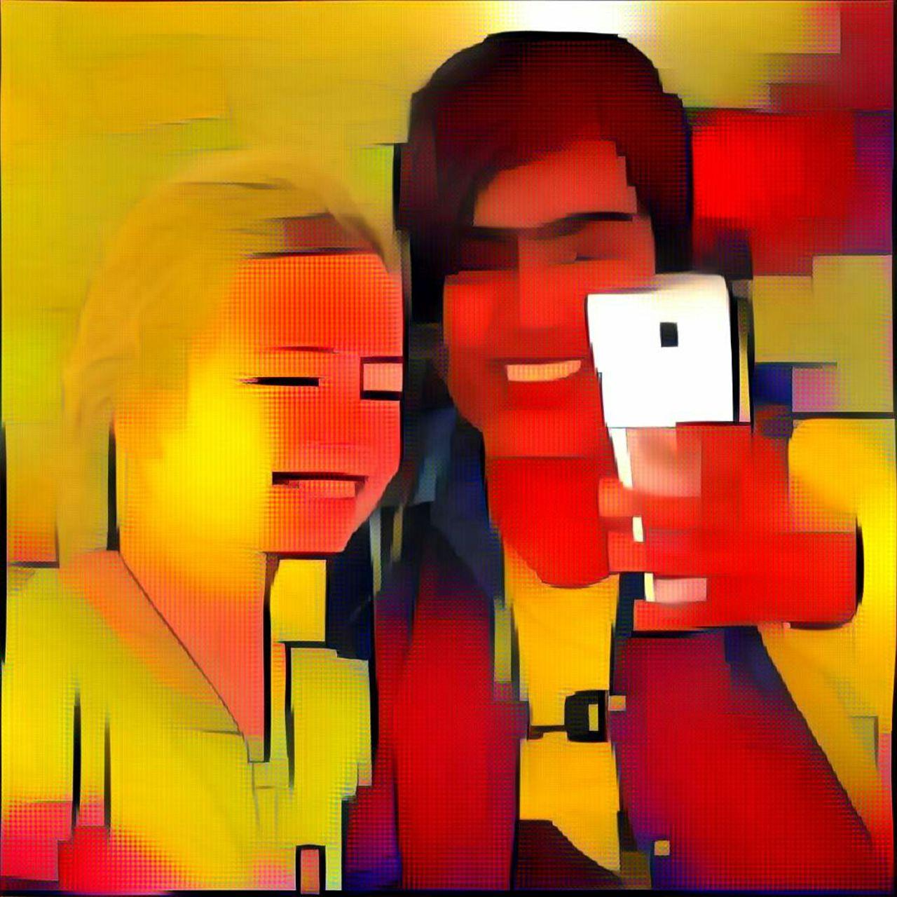 Danielle Arnal Selfie avec Margaux en Birmanie