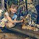 Danielle Arnal - caresse au tigre