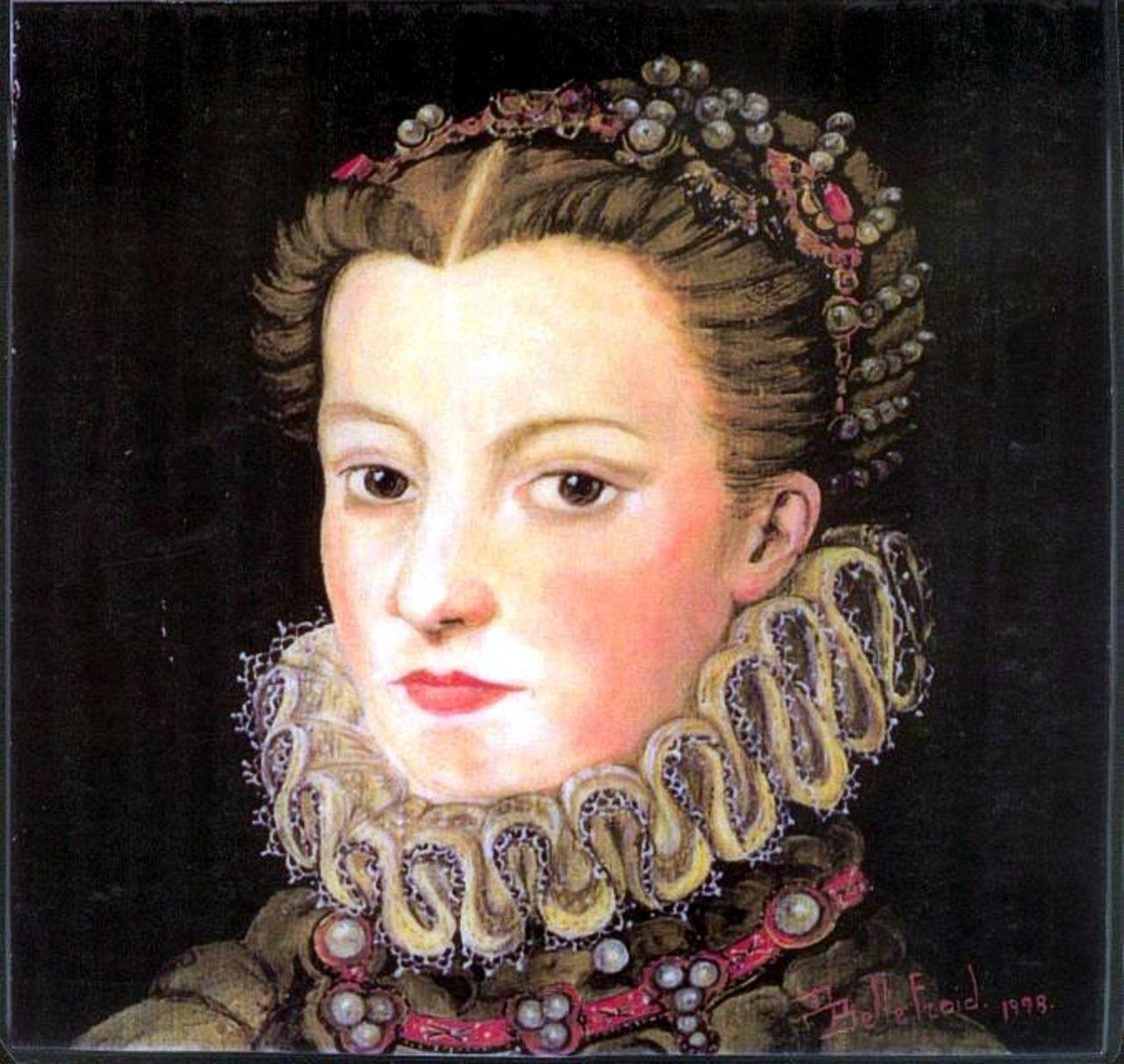 Danielle Bellefroid Elisabeth reine de France